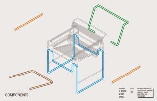 silla wassily componentes estructurales