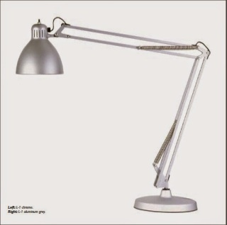 Lámpara Luxo L-1 acabado aluminio (imagen: www.glamox.com)